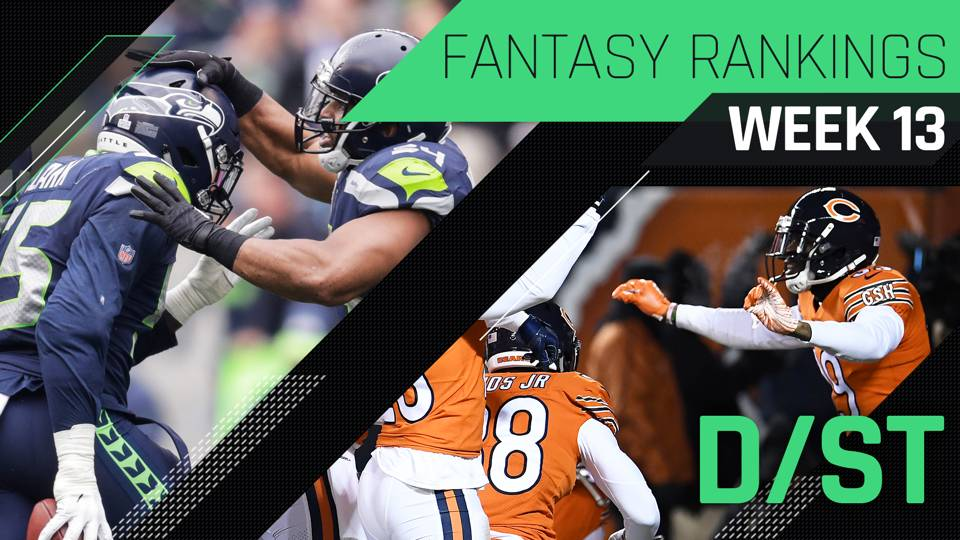 Week 13 Fantasy Rankings: Defense | Fantasy | Sporting News