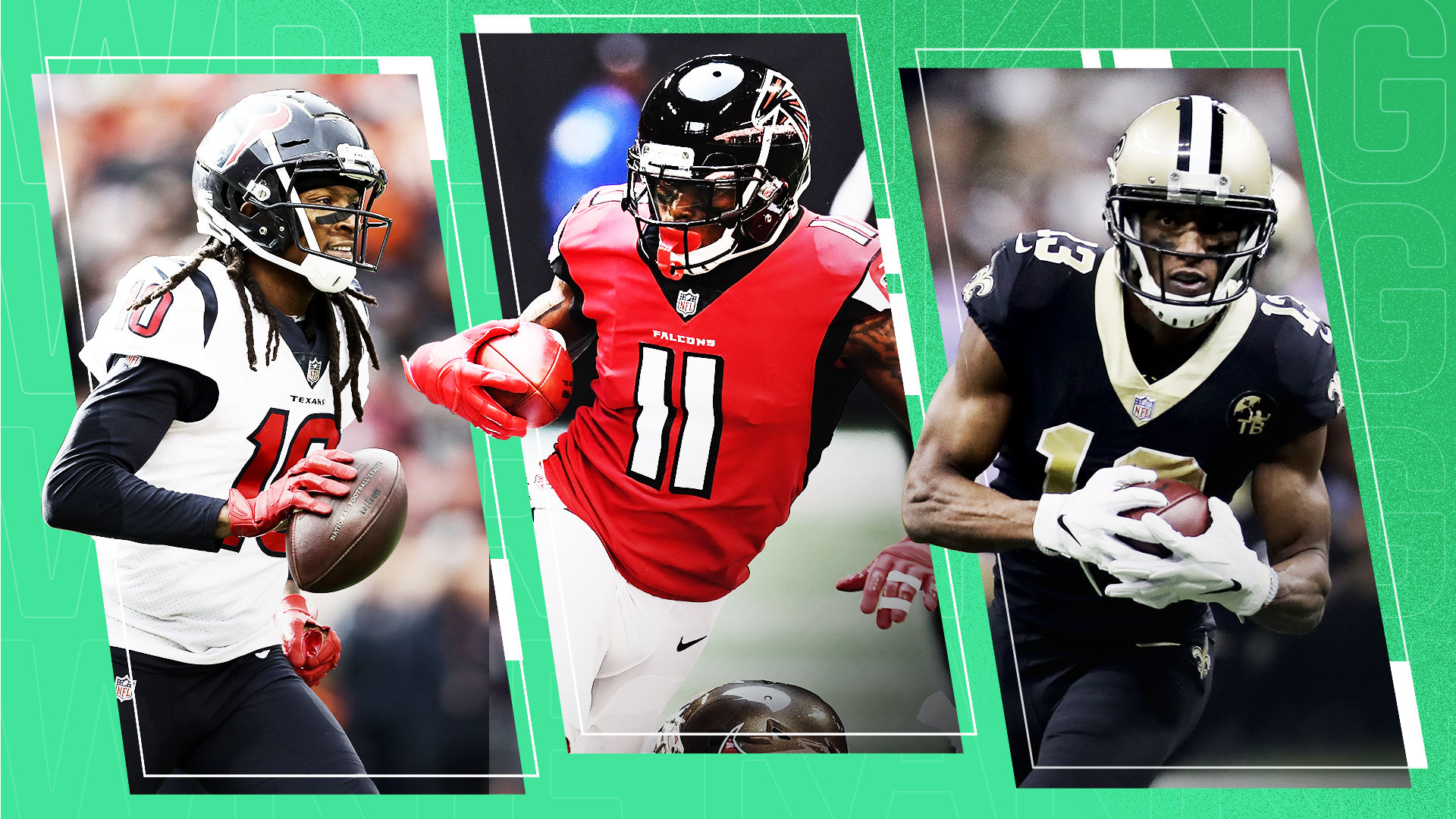 Ranking the NFL's top 25 wide receivers for 2019
