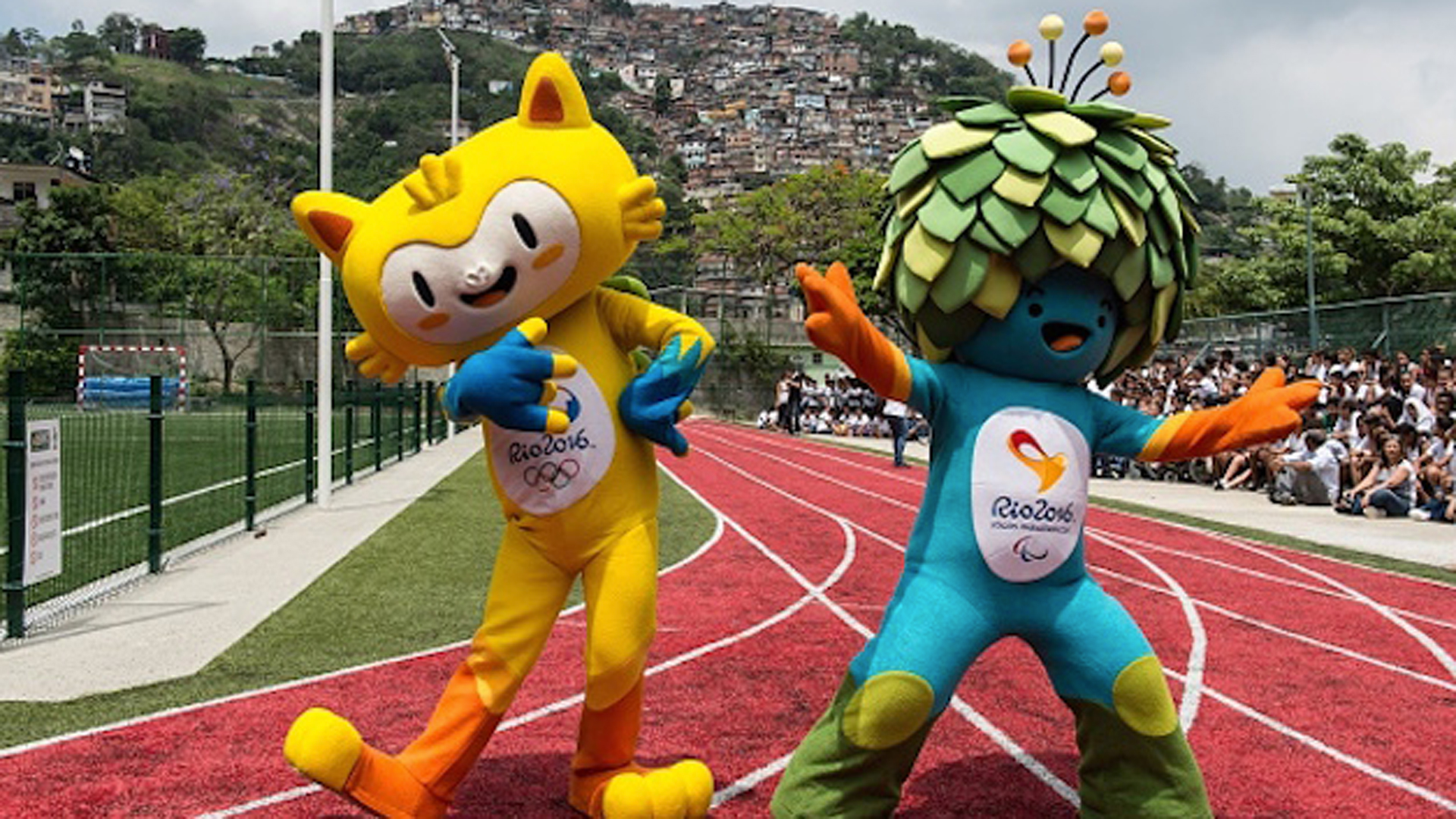 what are the olympic mascots