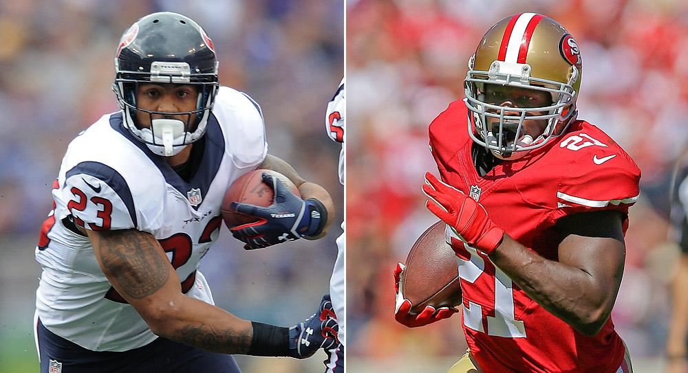 Fantasy Football Matchup: Texans at 49ers