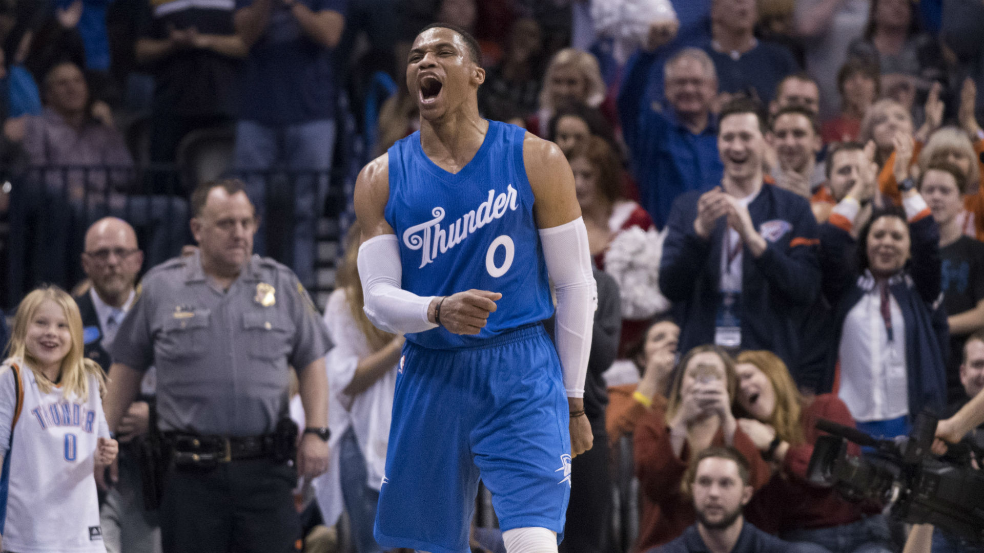 Confirmed: Russell Westbrook agrees to contract extension with Oklahoma City Thunder