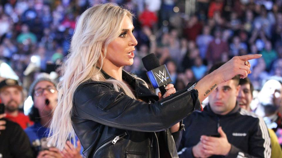 Charlotte Flair tells Edge it doesn't matter what you say because all Becky cares about is the championship on her shoulder.