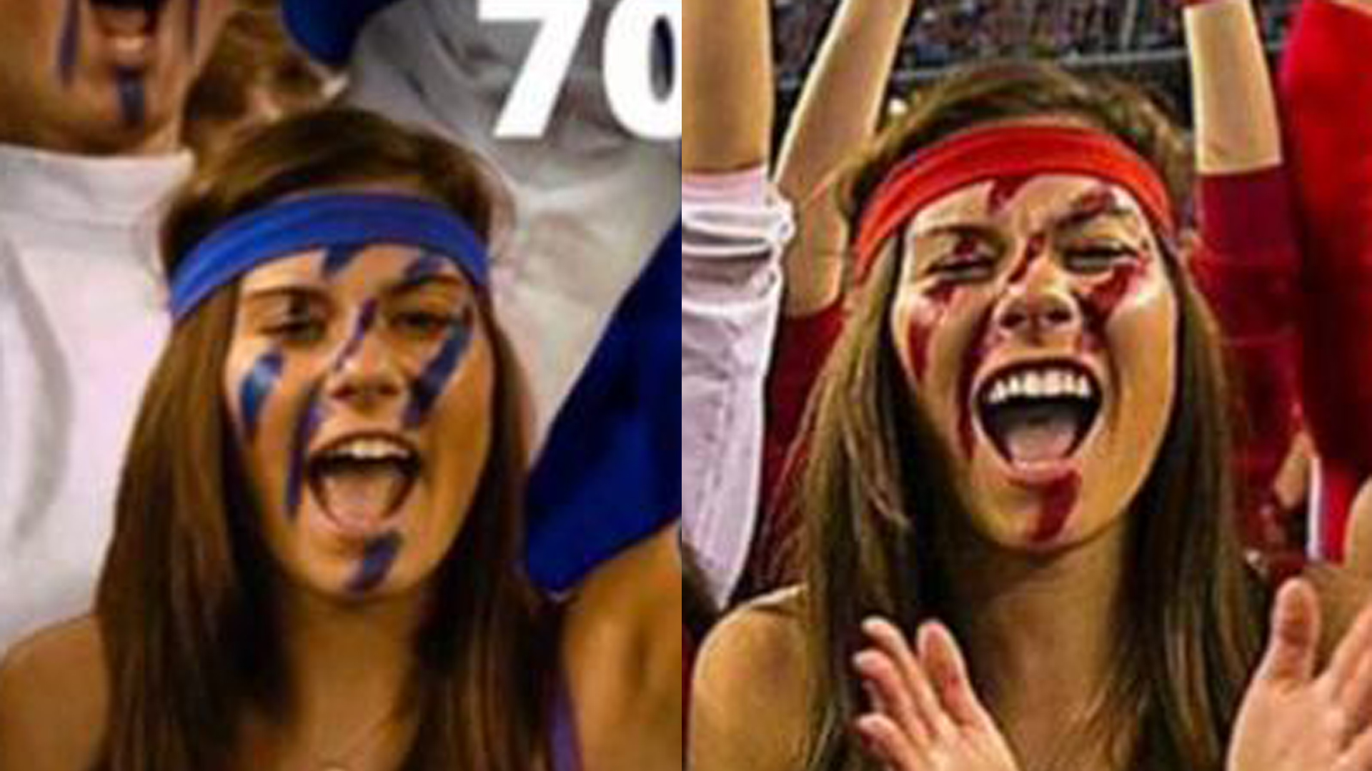 Company photoshops Badgers fans into Duke colors for Internet ad