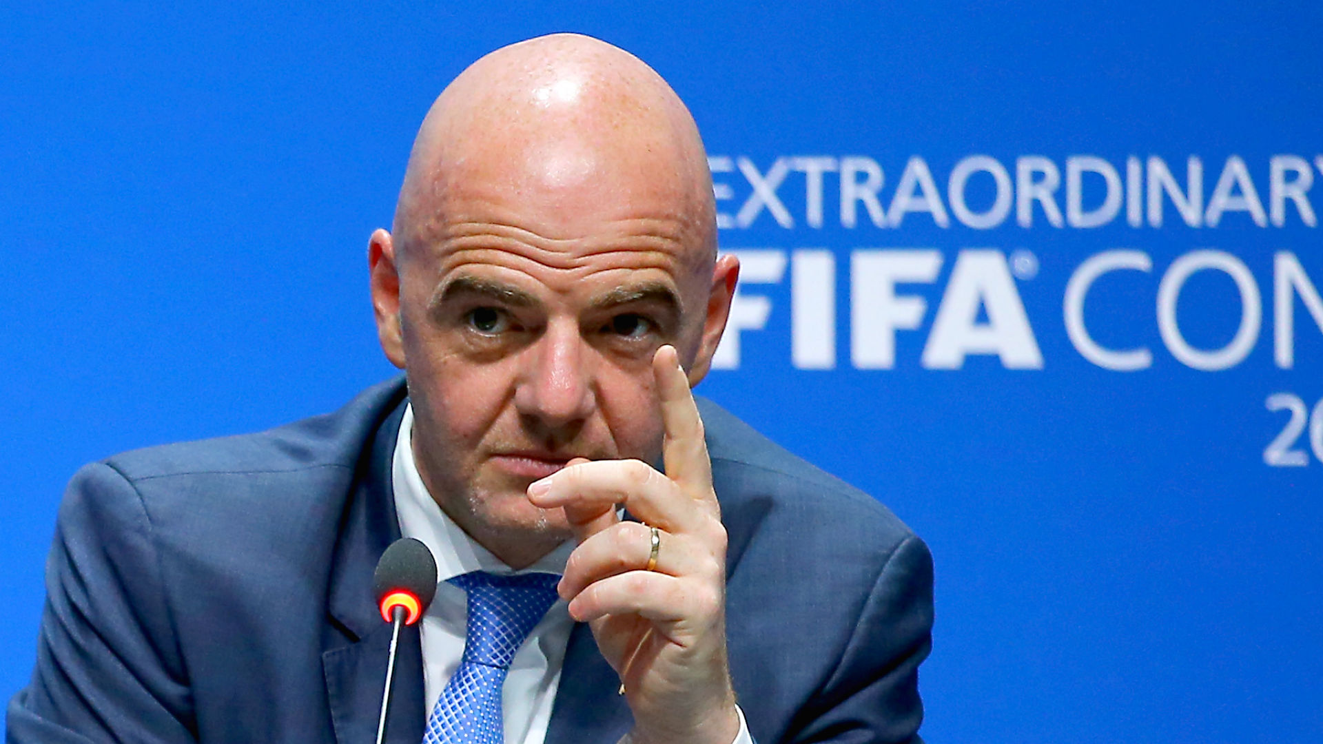 "I can battle the  ""forces that don't want change"", after decades of corruption- FIFA President"