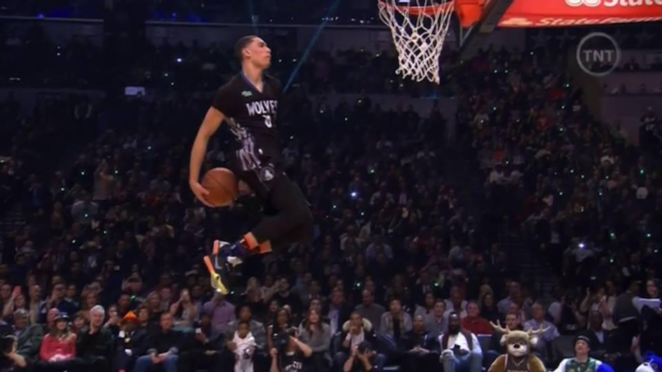 VIDEO  Zach LaVine wins 2015 NBA Slam Dunk Contest  f2c21d8b5ddd