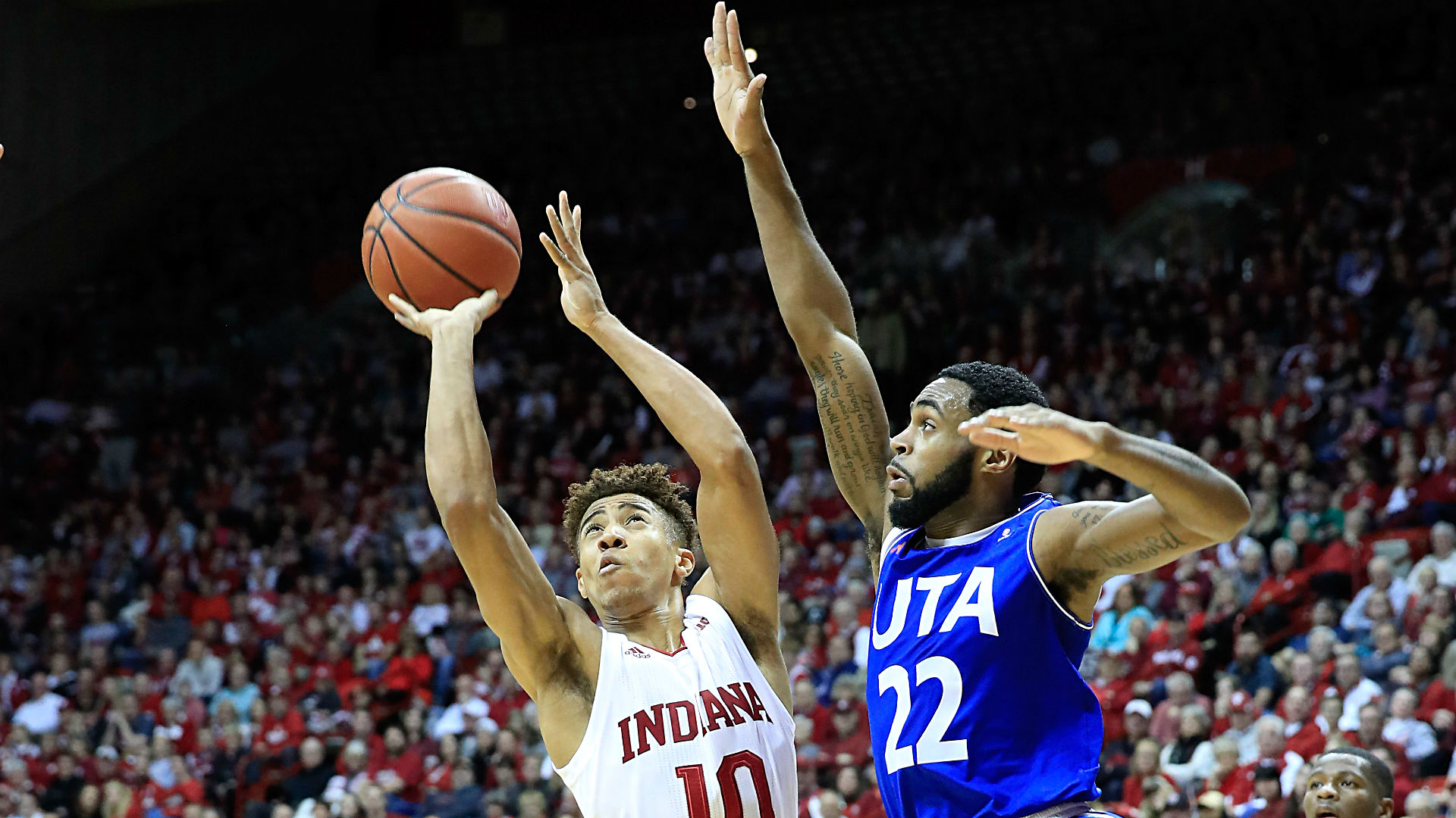 Indiana Freshman Rob Phinisee Sinks Game-Winning Three to Beat Butler