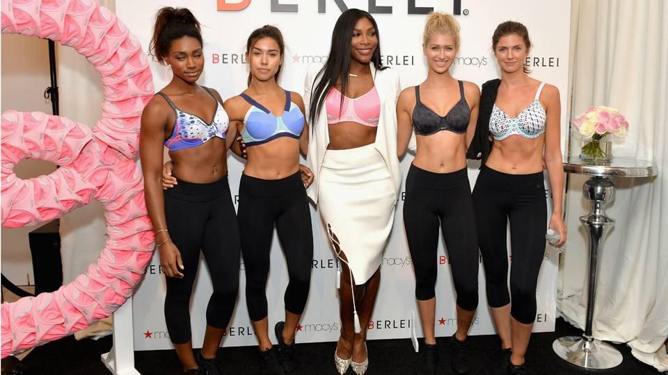 0beb4ff0824bd Serena Williams dances in lingerie in new commercial