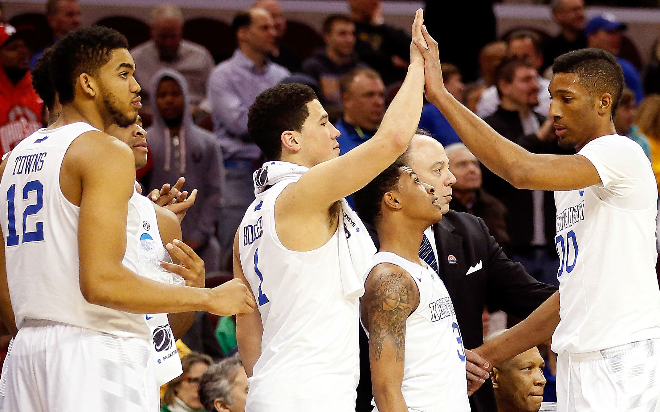Elite Eight betting lines – Kentucky back as double-digit favorite vs. Notre Dame