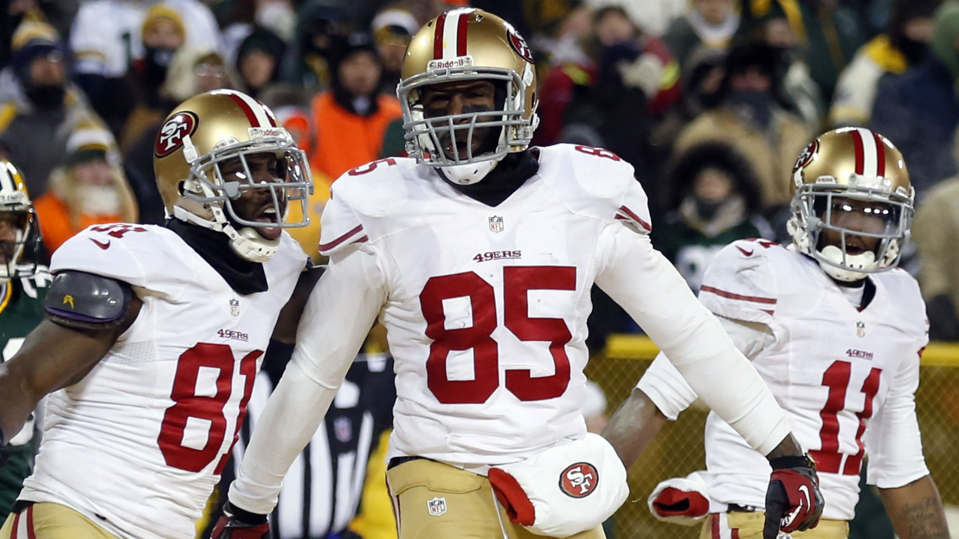 49ers' Vernon Davis confirms holdout from minicamp
