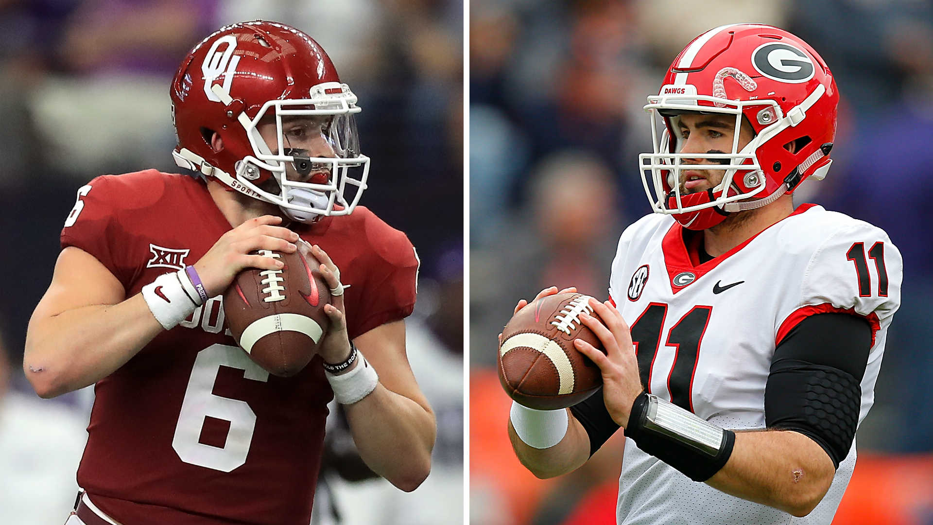Baker Mayfield >> Georgia vs. Oklahoma: Five numbers that will decide ...