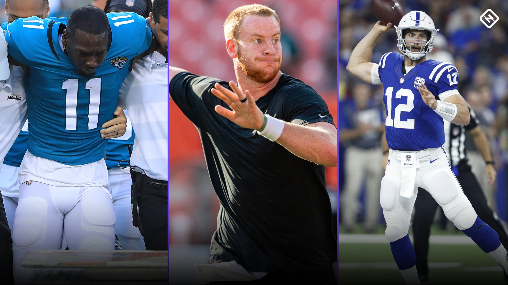 Fantasy Football Updates: Marqise Lee, Carson Wentz, Andrew Luck, more affecting fantasy rankings
