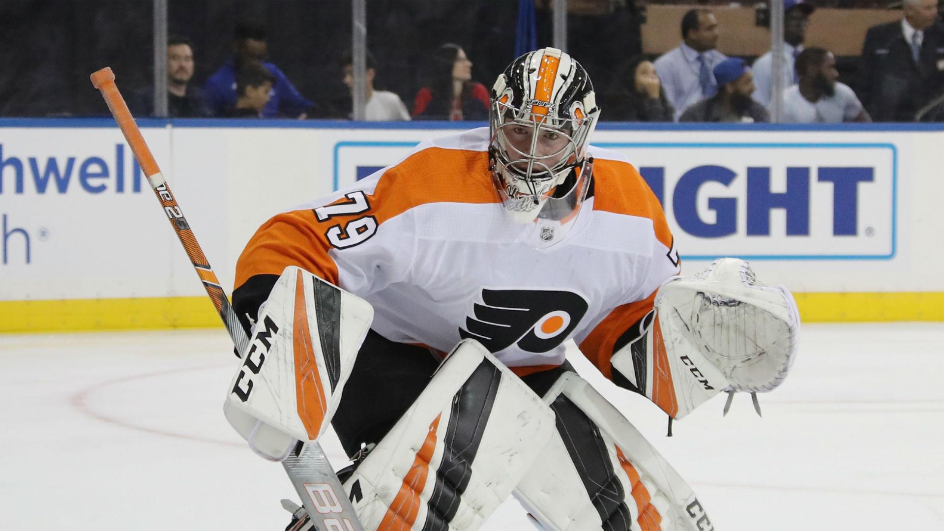 Philadelphia Flyers recall goalie Carter Harter