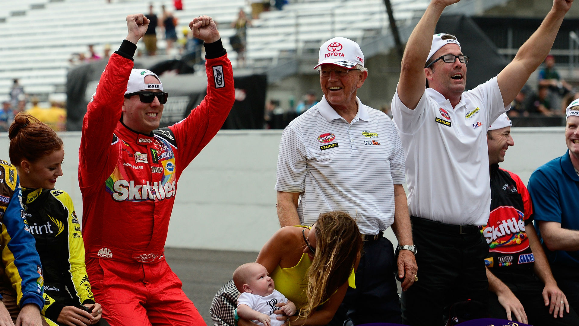Kyle Busch continues to make history with Indy performance