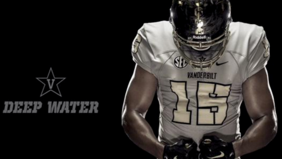 Vandy reveals new Deep Water football uniforms  ac0437dc1