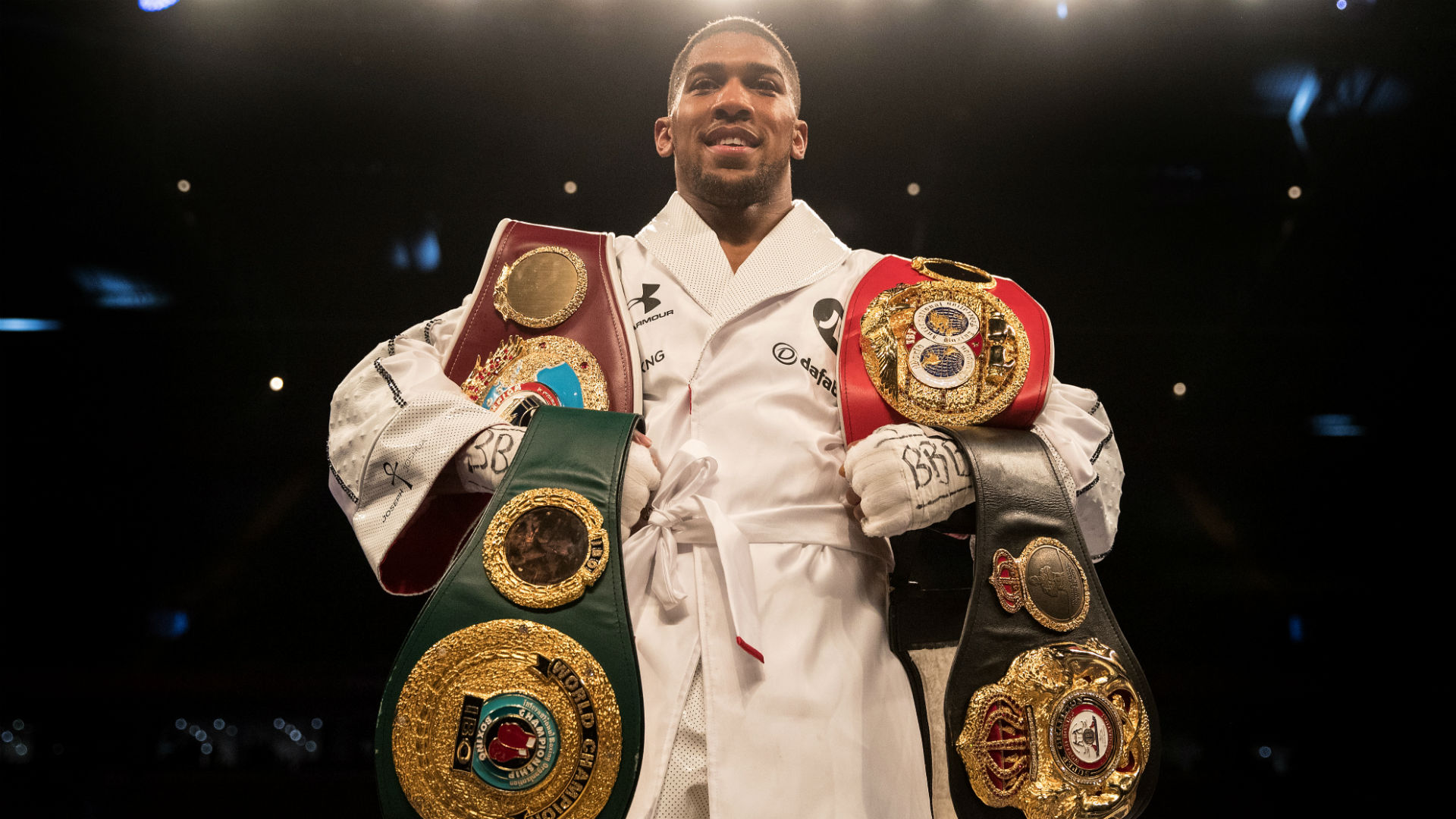 Anthony Joshua signs new multi-year contract with Matchroom Boxing