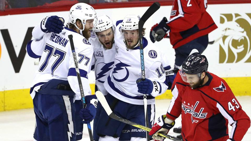 NHL playoffs 2018  Familiar feeling creeps in for Capitals after Game 4  loss to Lightning 1c912490a6f
