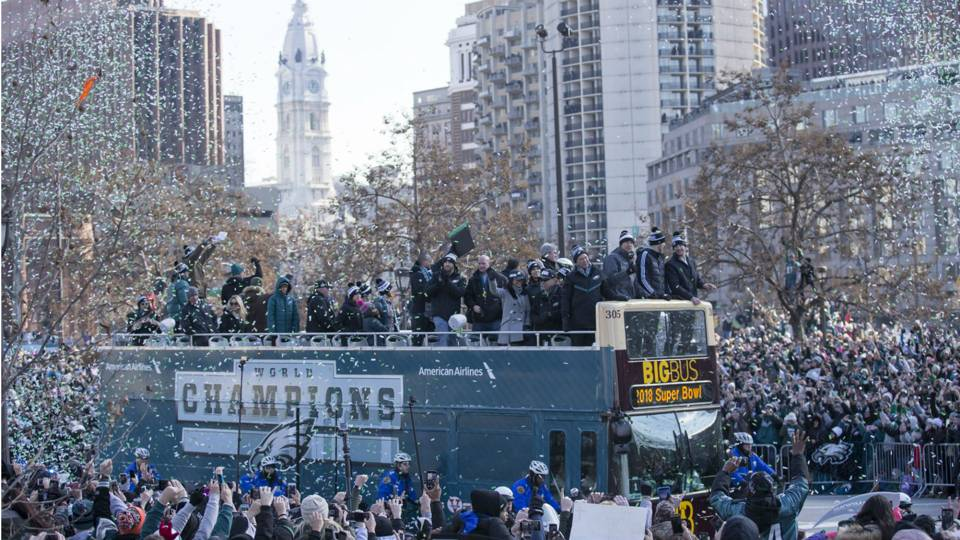 Philadelphia Eagles Super Bowl parade, Getty Images