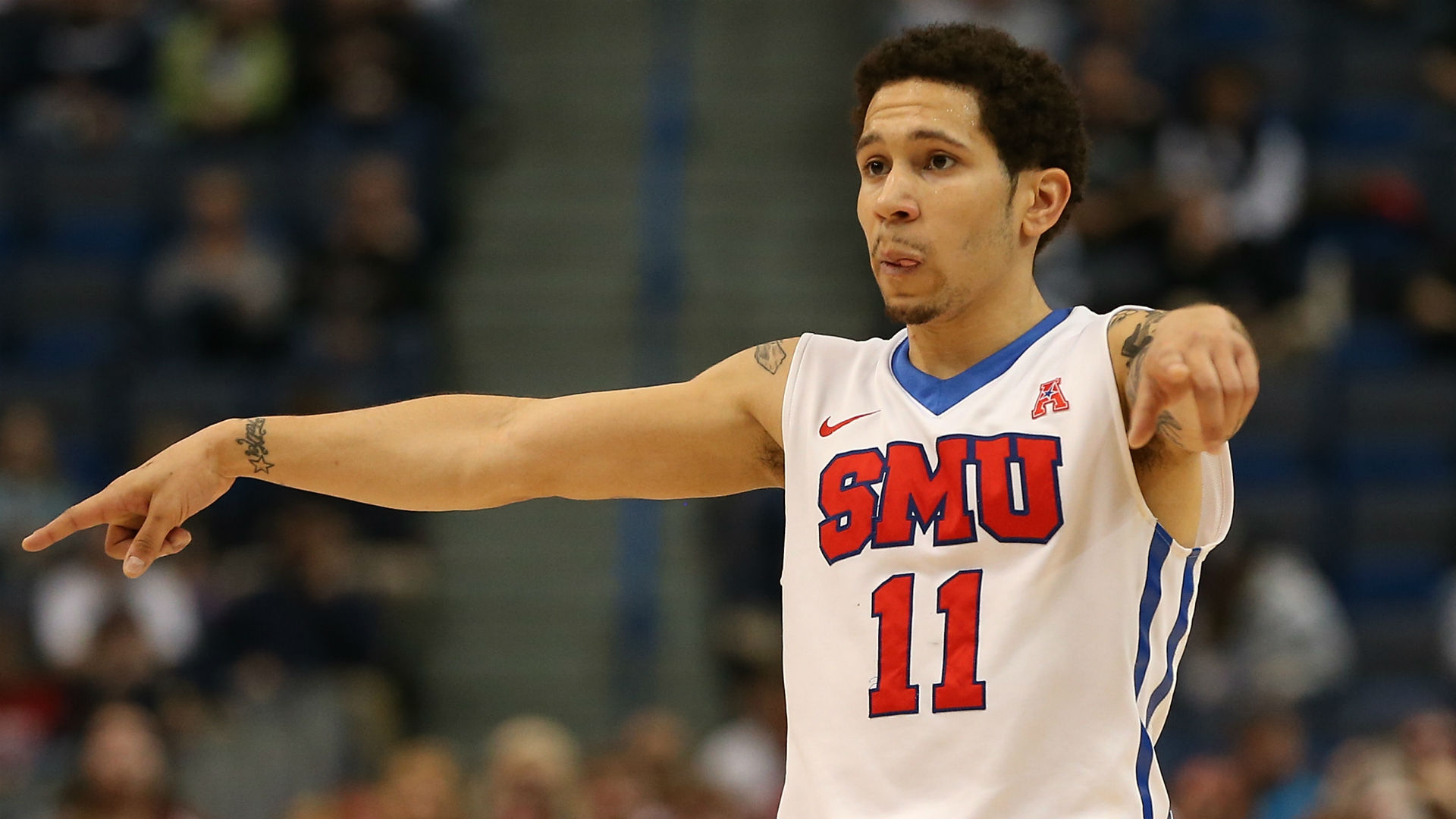 Kansas adds SMU point guard to roster for overseas trip