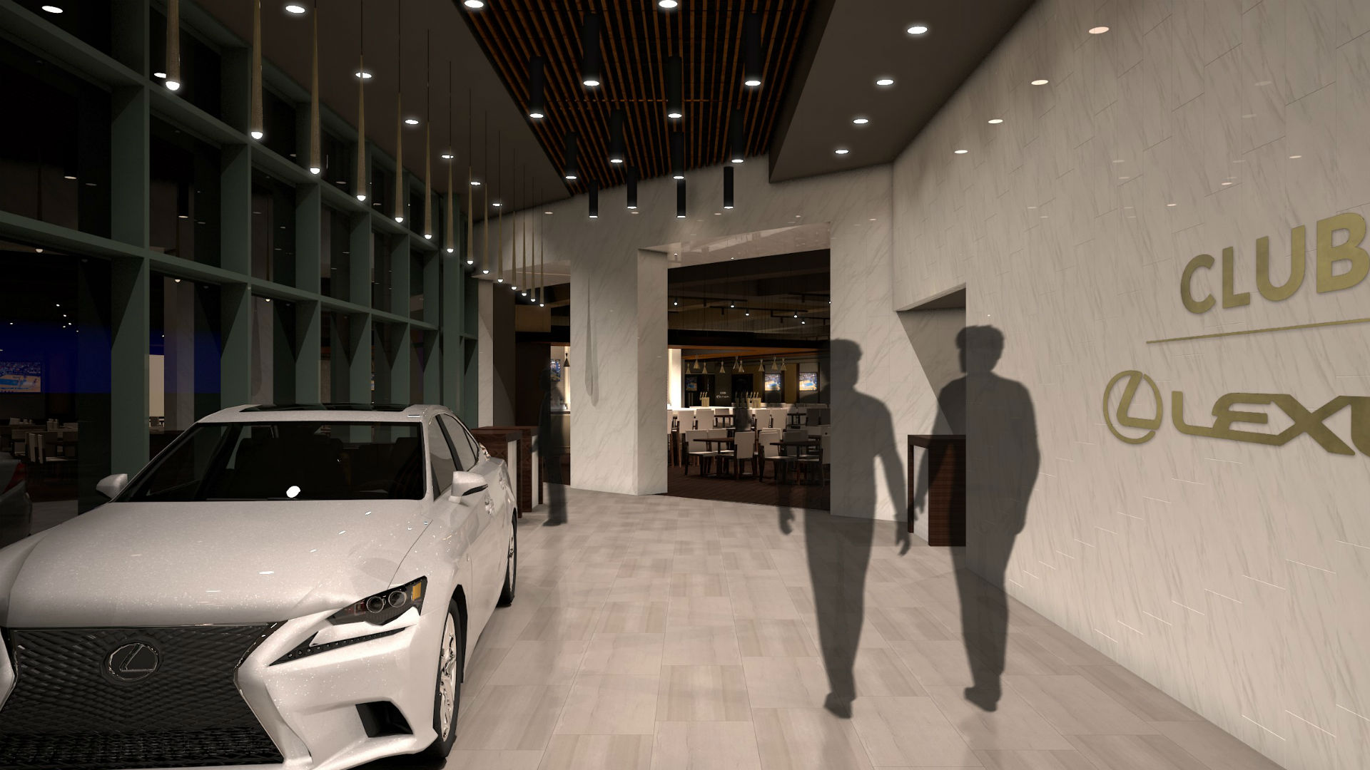 Pepsi Center introduces Club Lexus for best seats in the house NBA