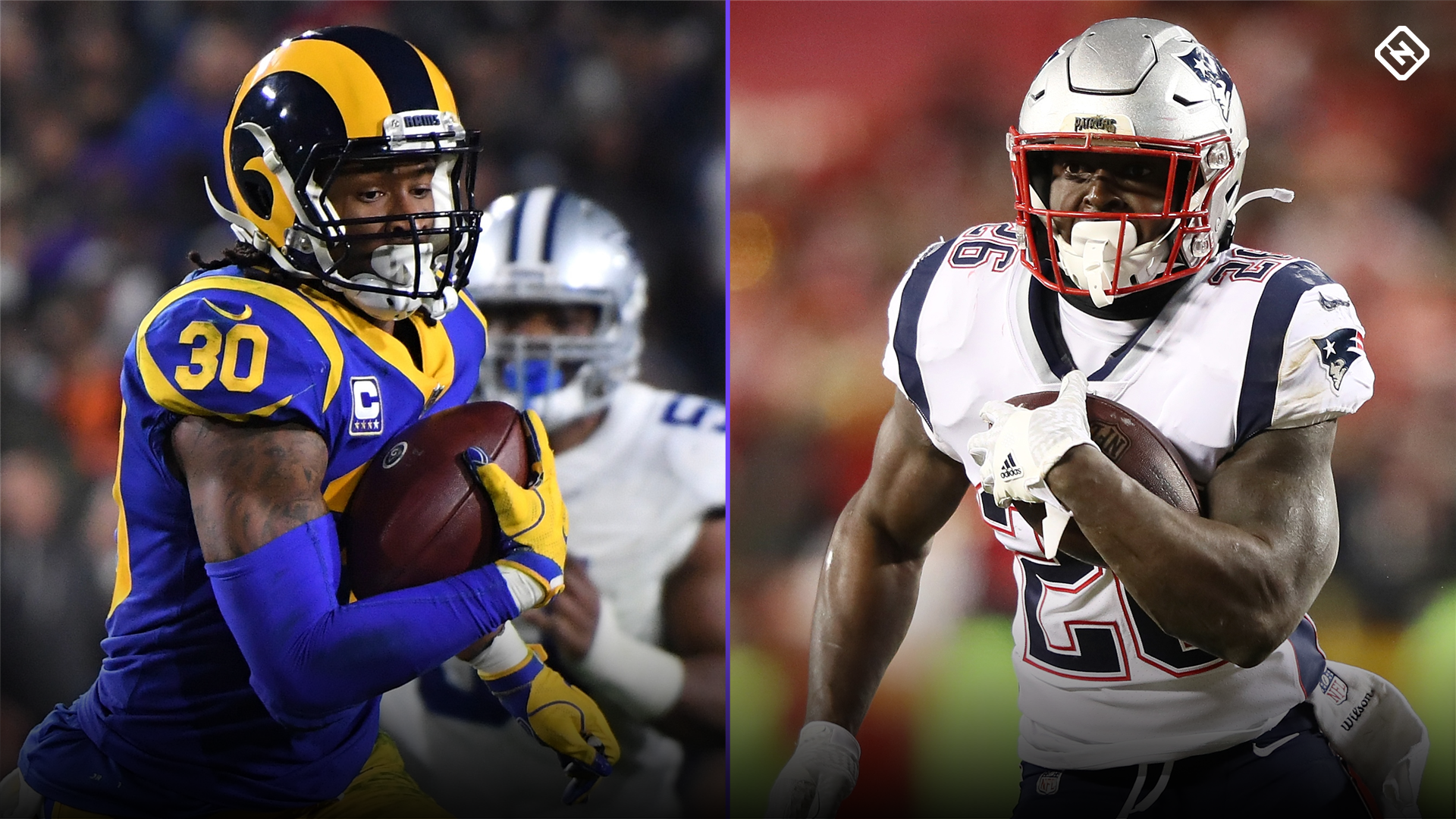 Georgia's RB legacy still running strong with Todd Gurley, Sony Michel at Super Bowl 53