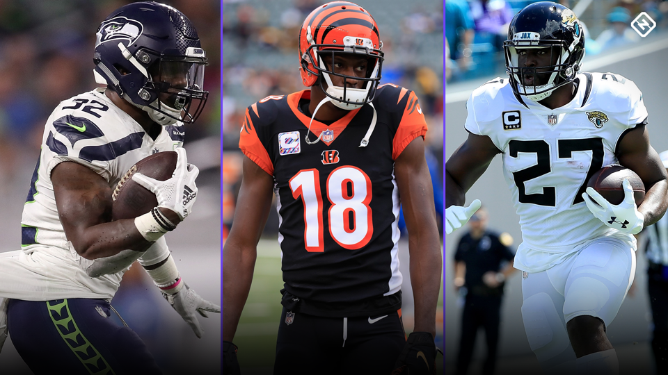 Fantasy Injury Updates Chris Carson A J Green Leonard Fournette