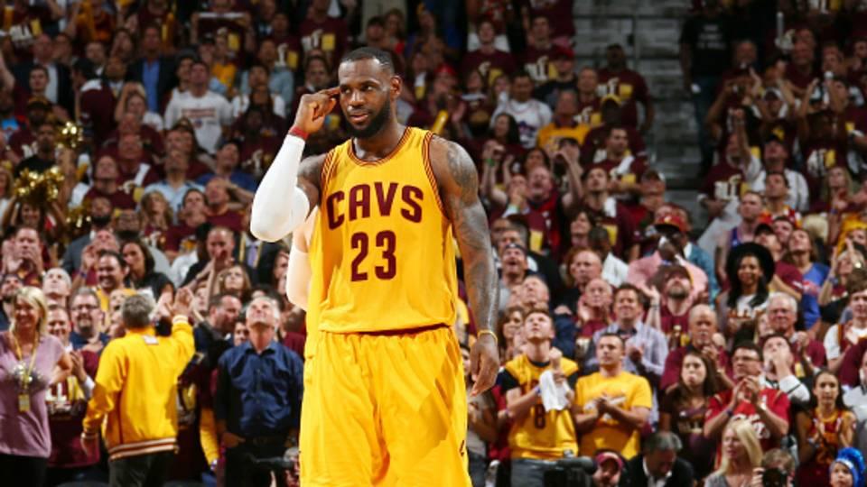 LeBron James 06 10 2015 FTR Getty Images
