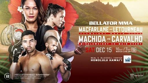 Bellator Hawaii card announced for December 15 live on DAZN