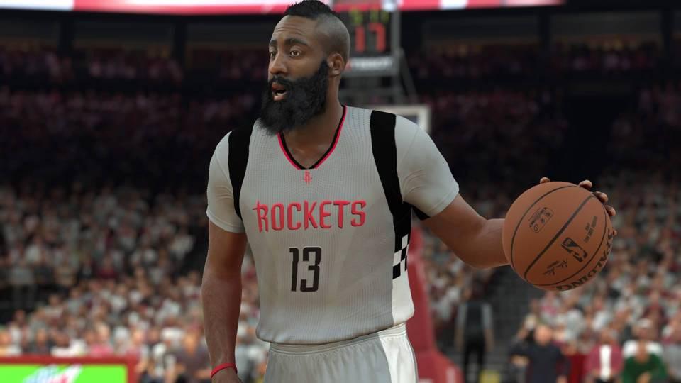 NBA 2K17 James Harden