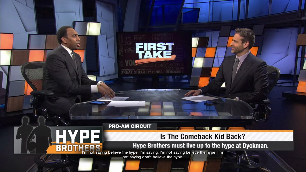 NBA Live 18 First Take Stephen A Max