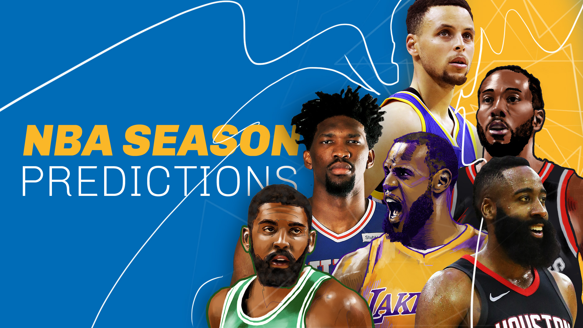 NBA season predictions 2018-19: East, West contenders look to end Warriors' dynasty | NBA ...