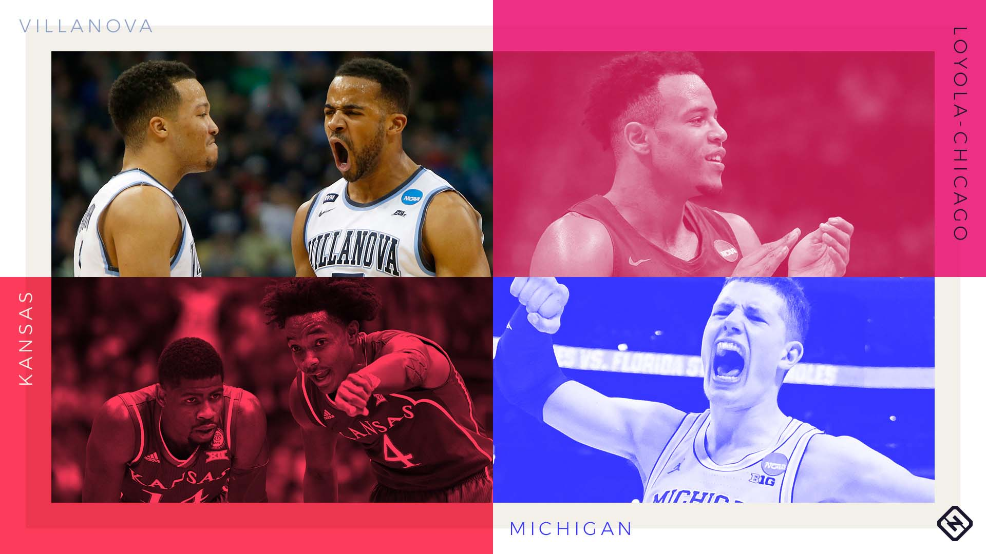 Final Four includes three powerhouses and one Cinderella — March Madness