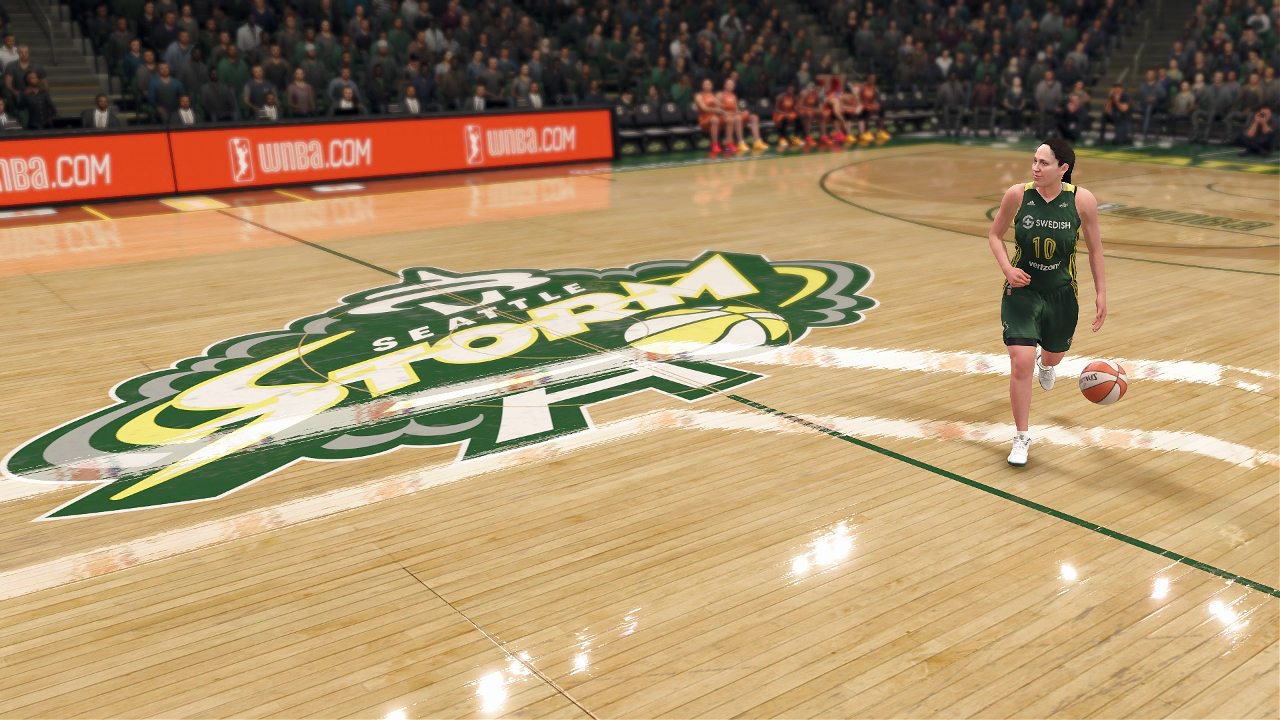 NBA Live 18 Seattle Storm Sue Bird
