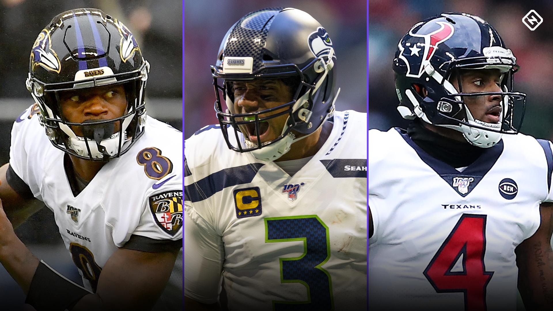 NFL QB power rankings: Russell Wilson holds MVP edge over Deshaun Watson, Lamar Jackson in Week 10