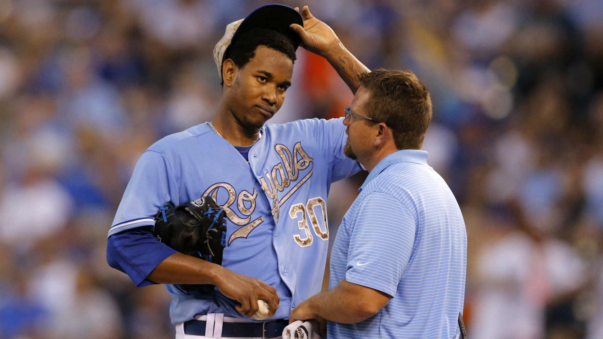 Injury Report: MRI brings good news for Royals' Yordano Ventura