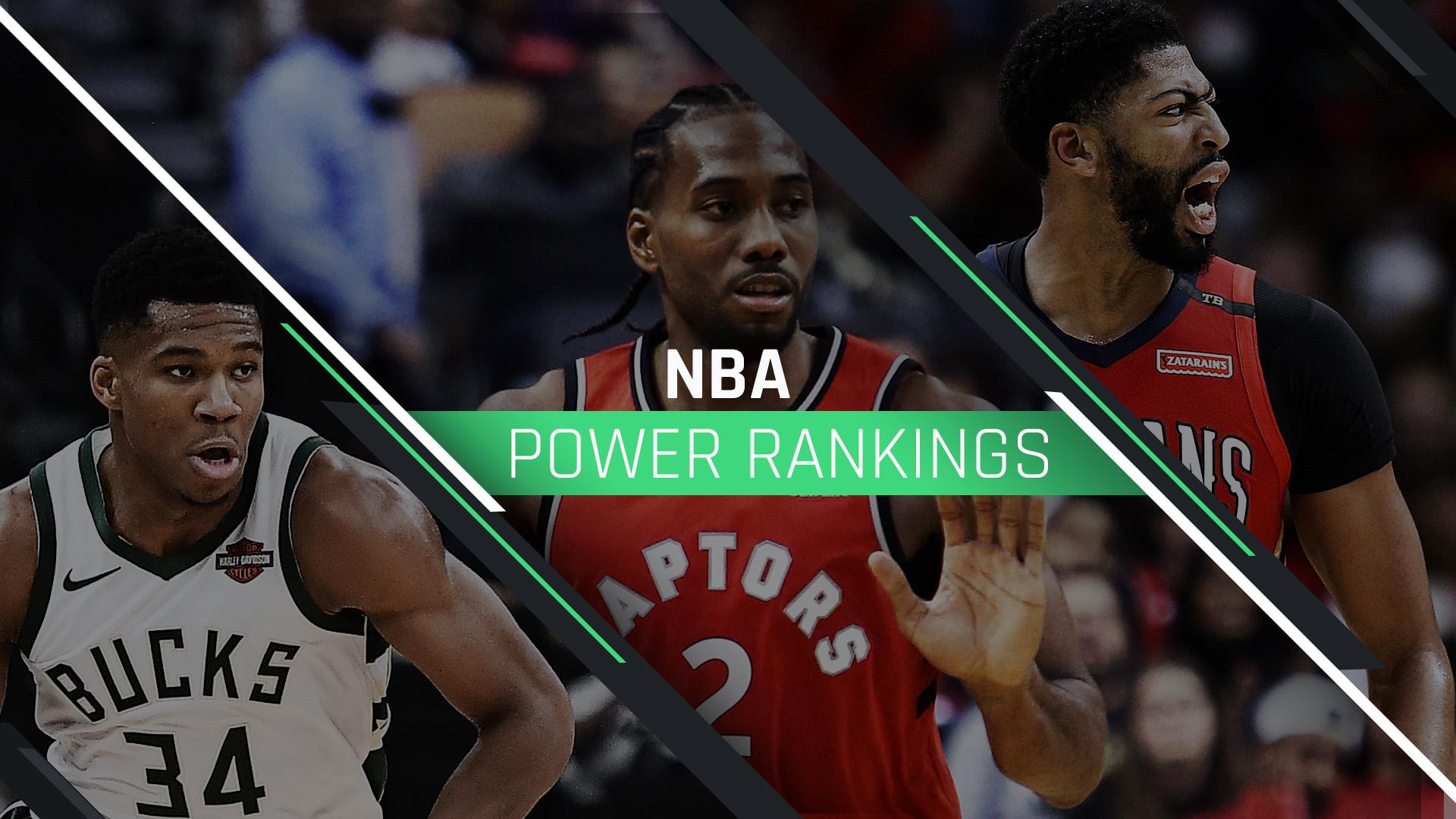 NBA Power Rankings: Bucks ride defense to top; Pelicans hurt by lack of depth