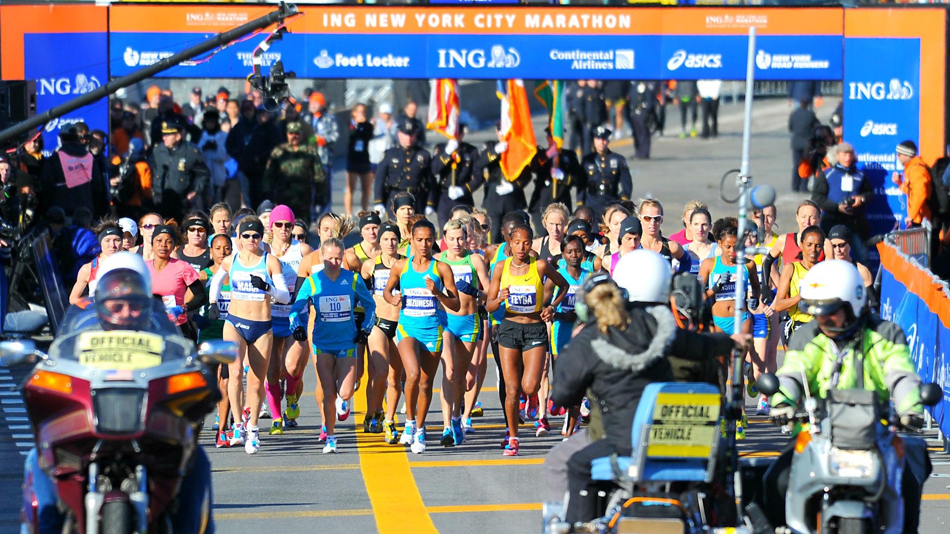 pics Marathons Safe for Regular Runners Over 50