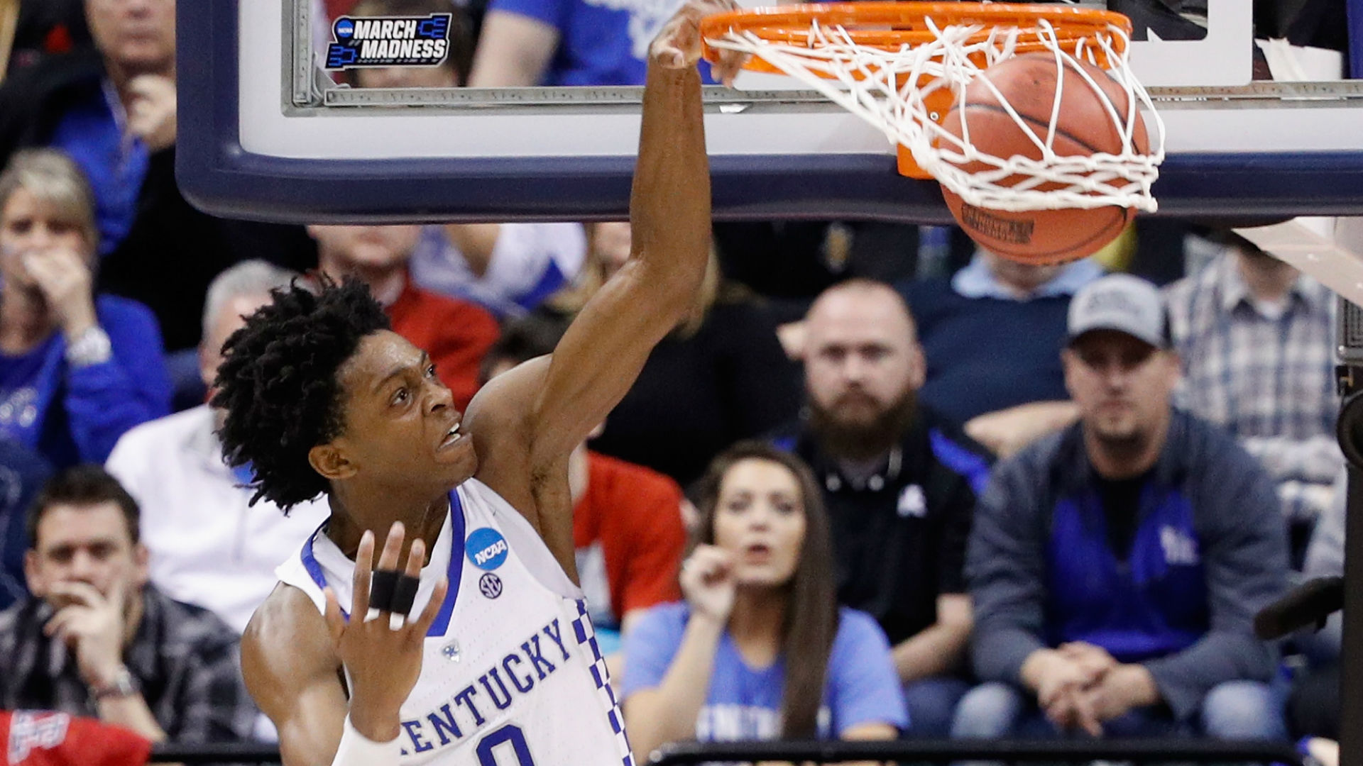 De'Aaron Fox Gives Emotional Interview After Loss To UNC