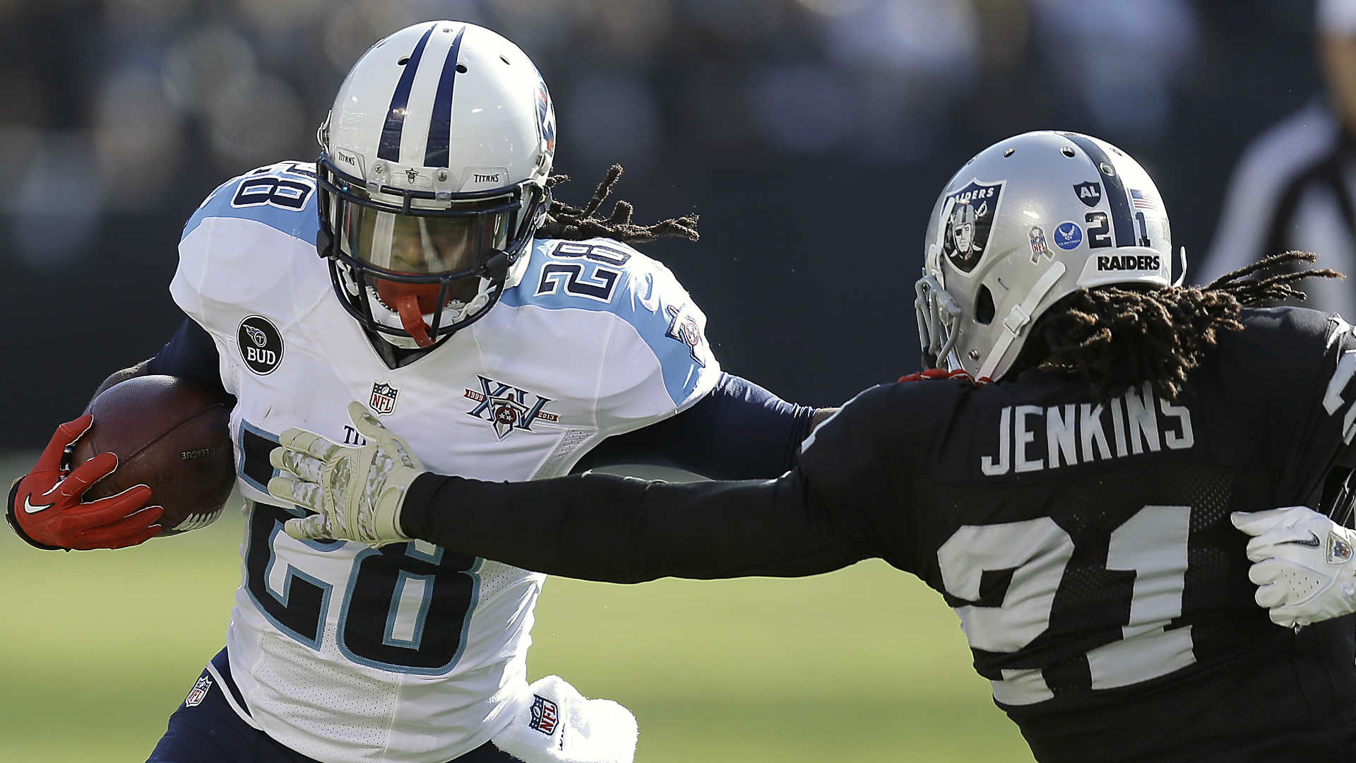 Titans release Chris Johnson; fantasy football owners forget 2,000-yard season