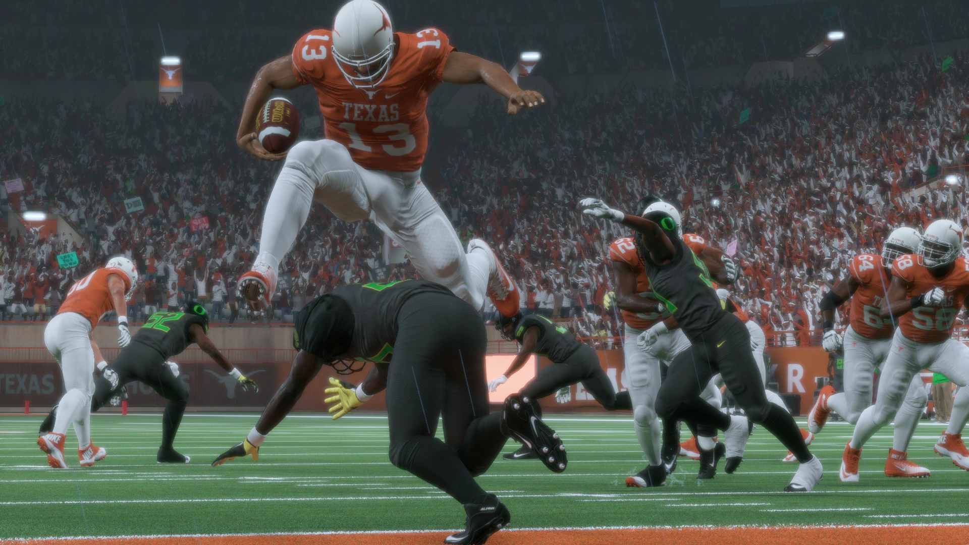 Madden NFL 18 Texas Longhorns Oregon Ducks