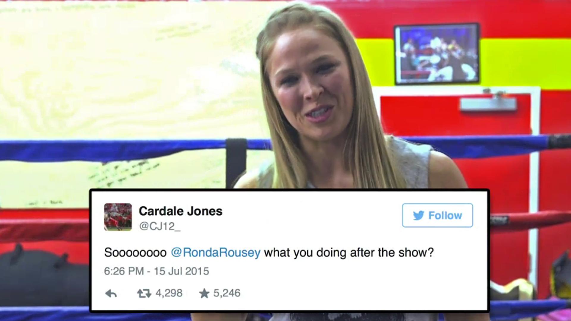 Twitter Ronda Rousey nude photos 2019