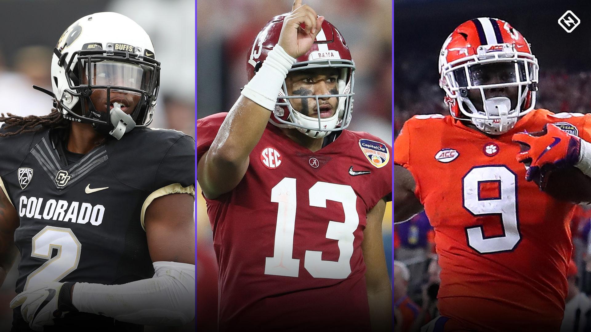 NFL mock draft 2020: Raiders take Tua Tagovailoa at No. 1; Bengals, Lions grab QBs, too