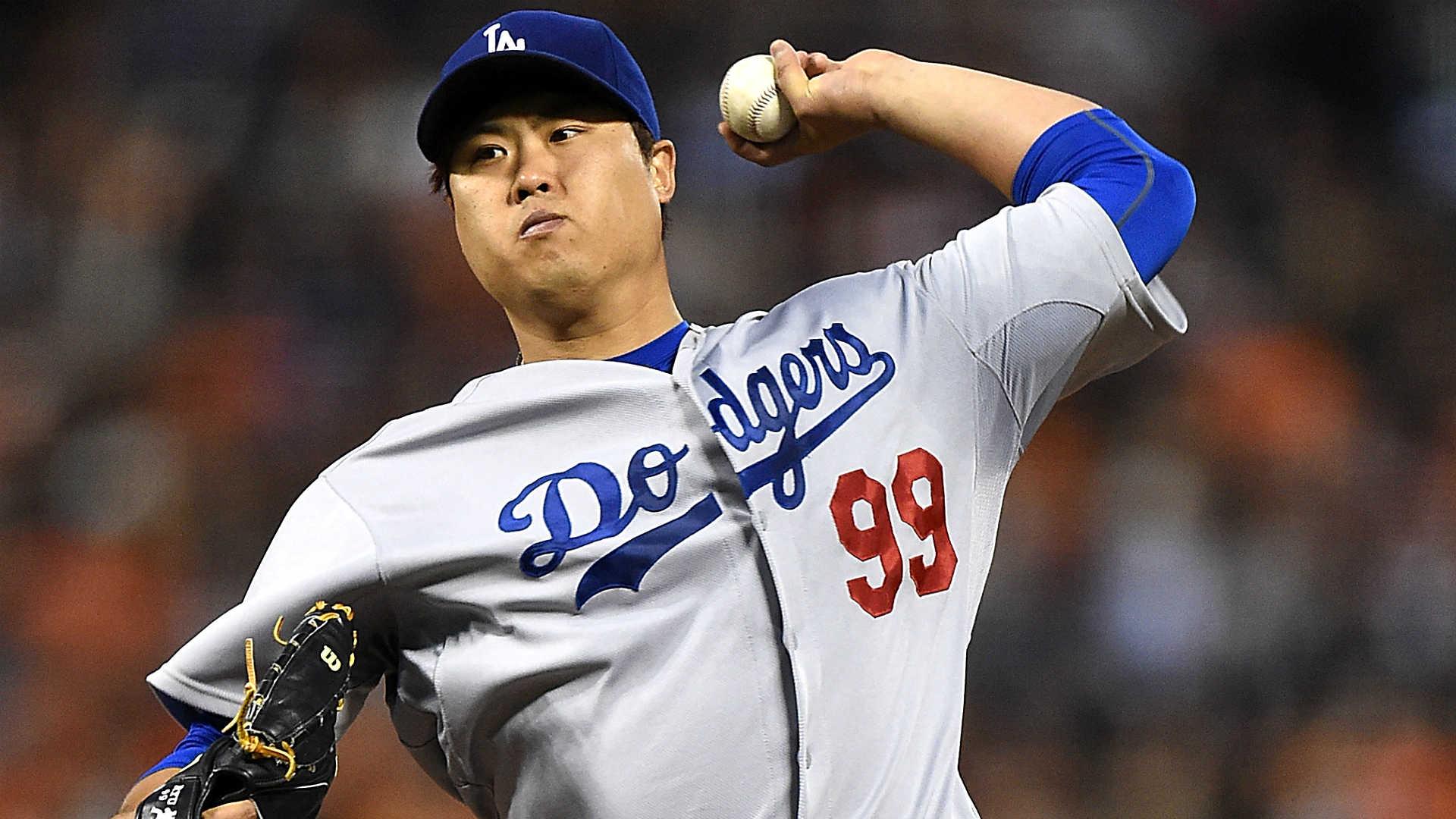 Ryu Hyun Jin Wallpaper Dodgers Starter Hyun-jin Ryu