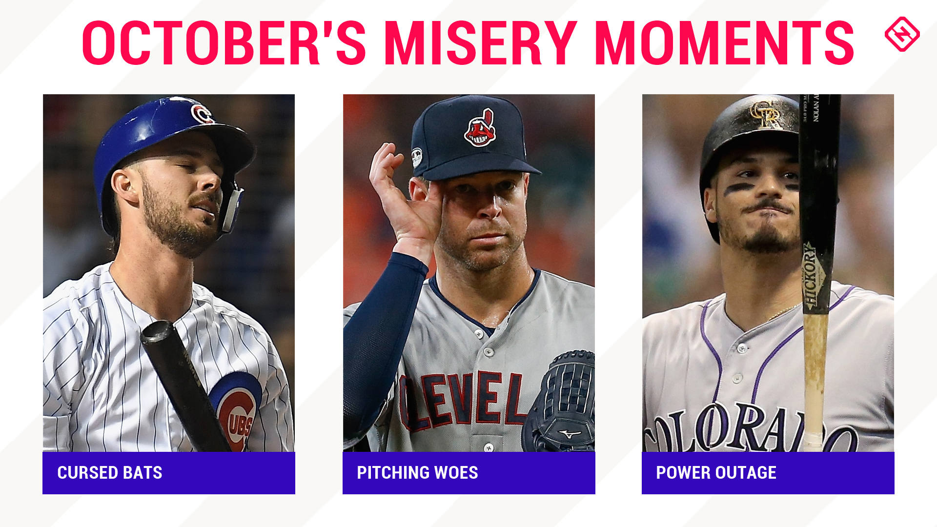 MLB postseason: What went wrong for six teams with early playoff exits