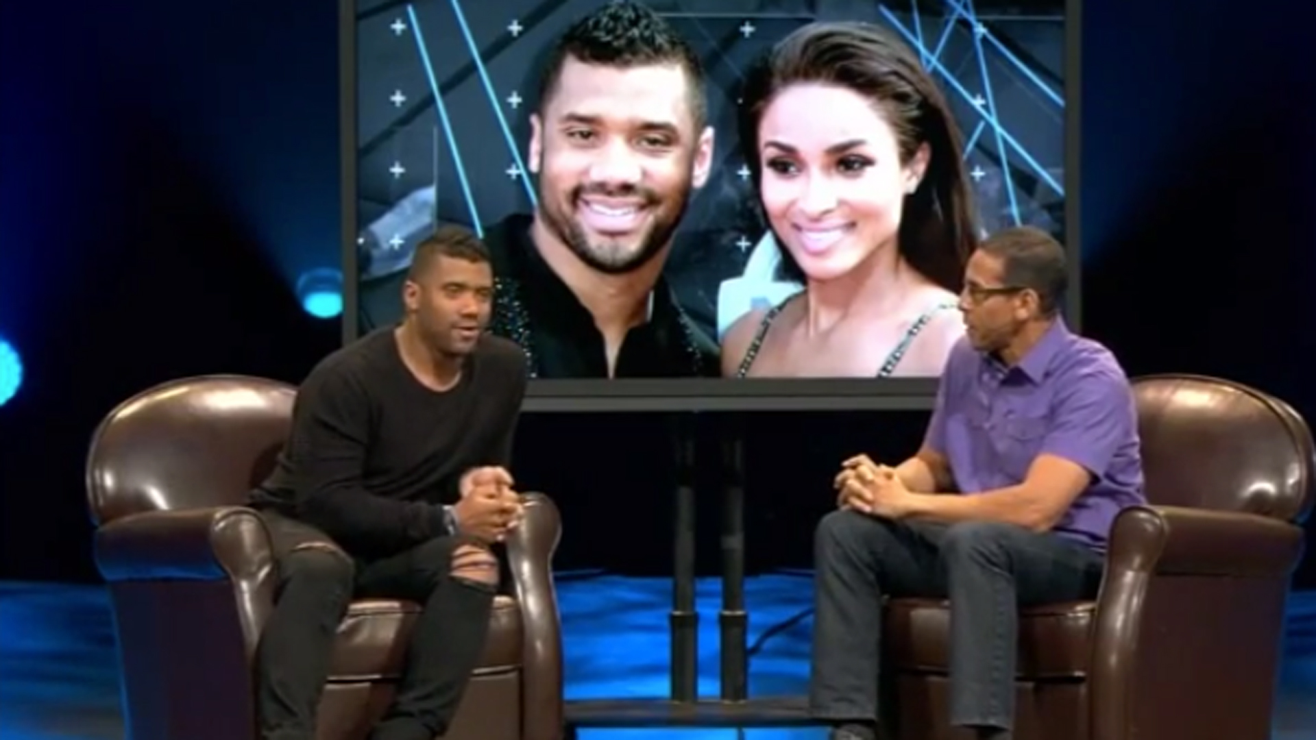 Russell Wilson says he and Ciara will practice abstinence until marriage