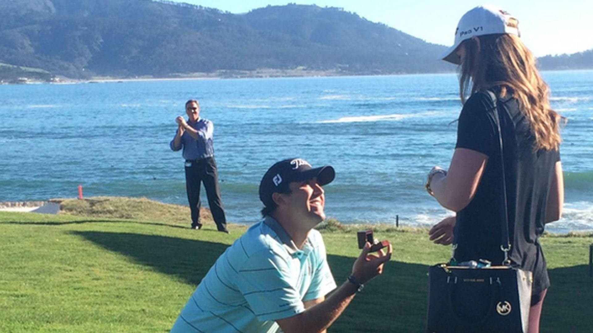 PGA Tour Golfer Proposes To Girlfriend On 18th Hole At Pebble Beach