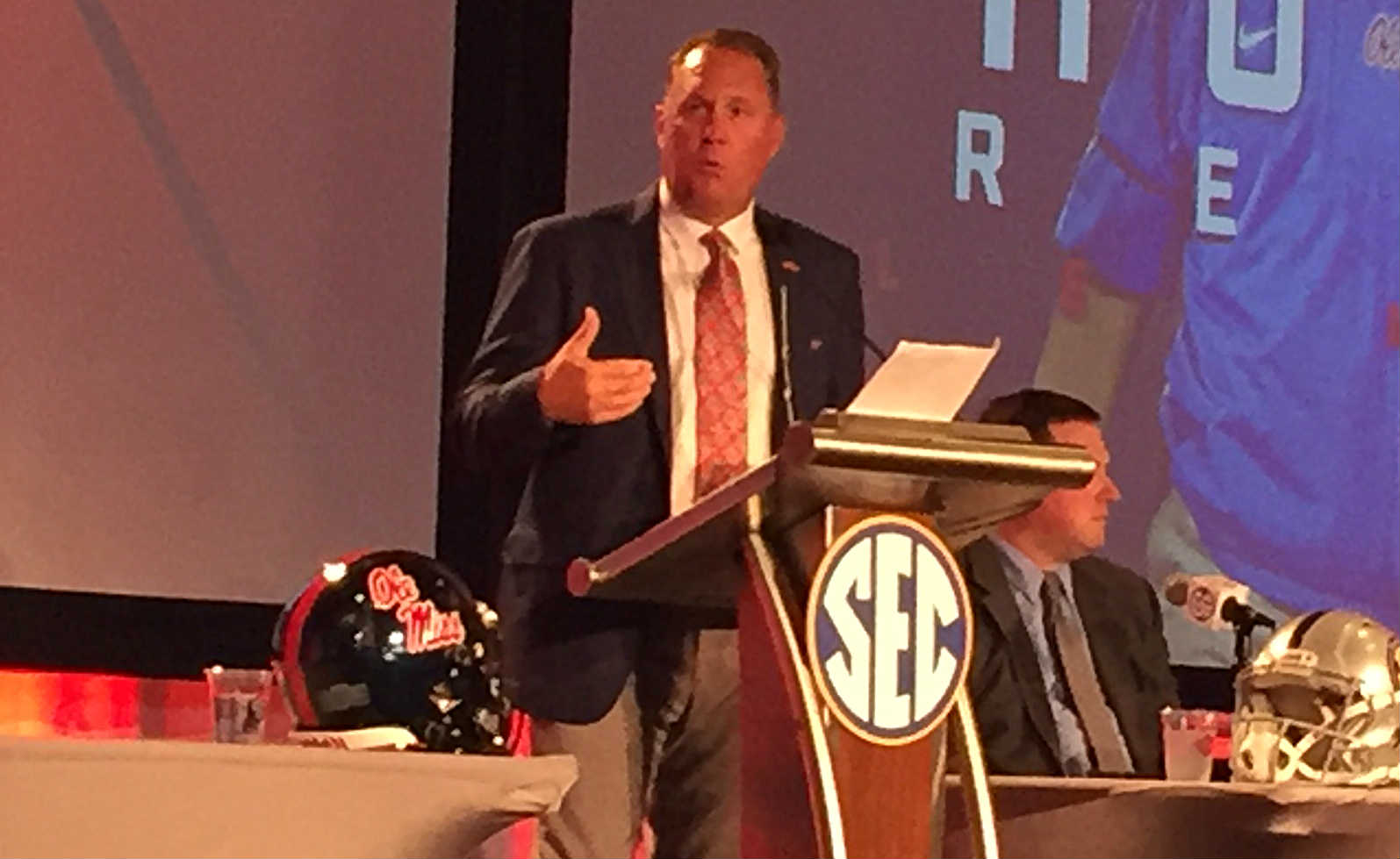Hugh Freeze responds to Houston Nutt lawsuit at SEC Media Days