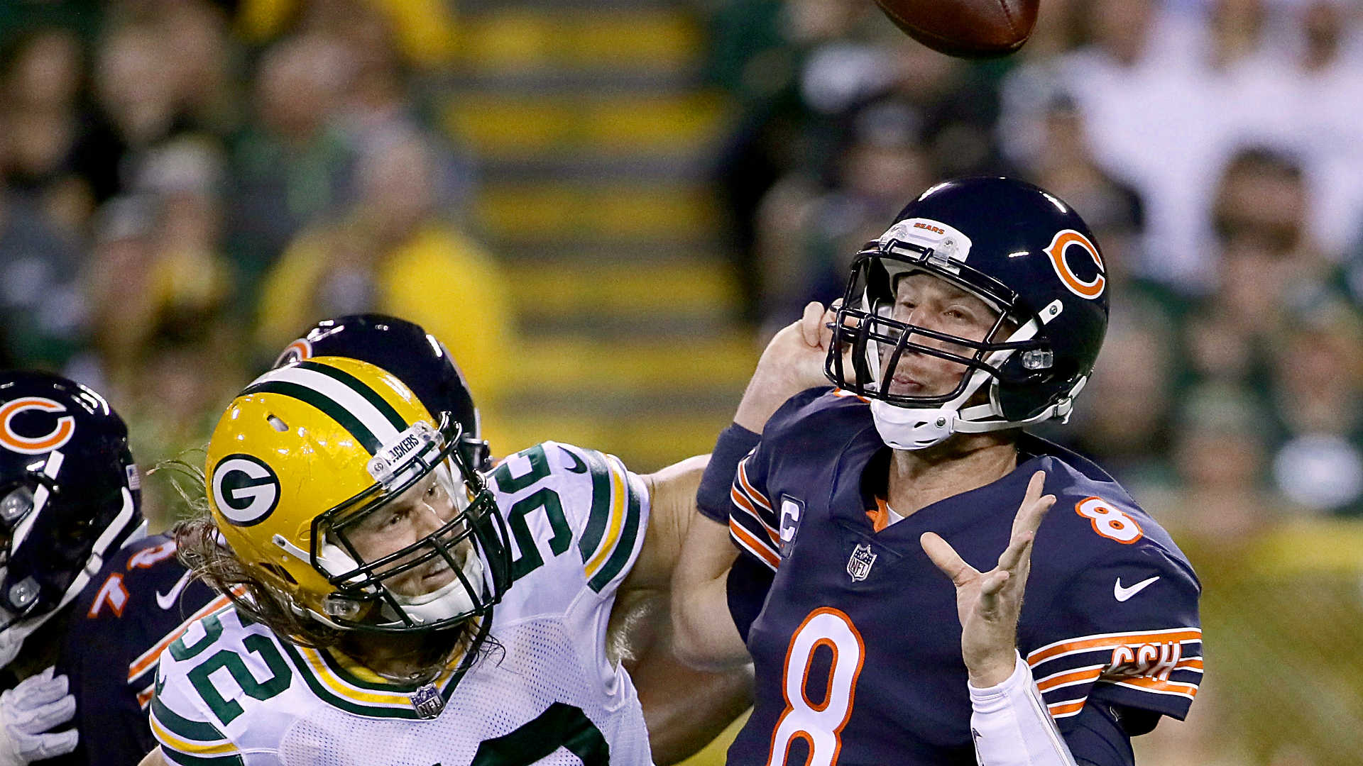 Packers beat weather, Bears, 35-14