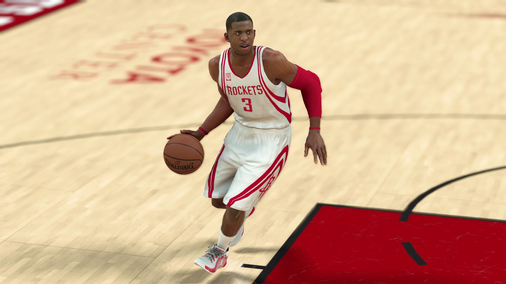 Chris Paul trade gives Rockets NBA's best backcourt, according to 'NBA 2K' | NBA ...