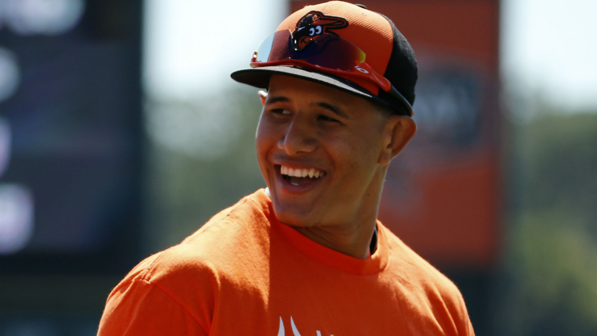 Machado has setback with his knee, opening day in doubt