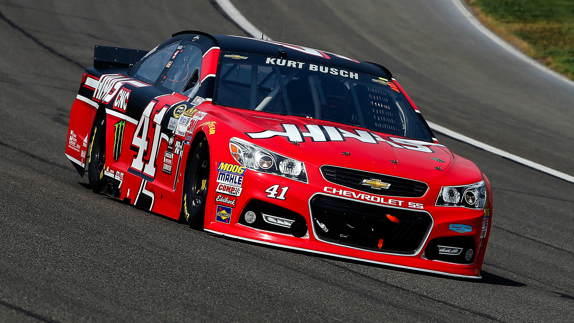 NASCAR odds and driver ratings - Kurt Busch fast, Harvick mortal